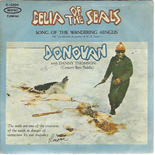 Donovan - Celia Of The Seas / The Song Of The Wandering Aengus
