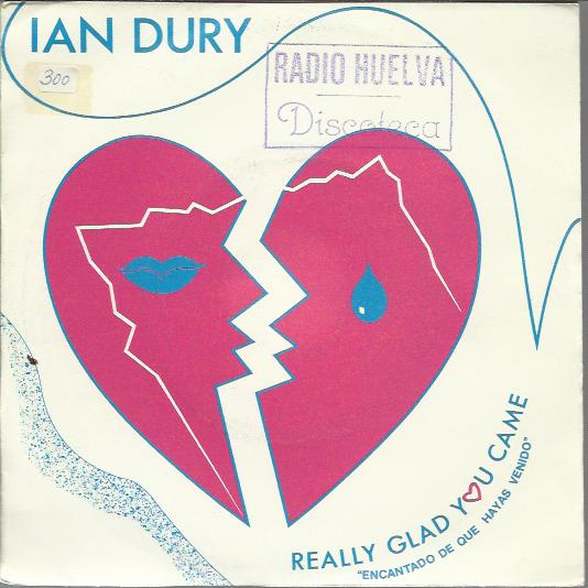 Ian Dury - Really Glad You Came / Inspiration