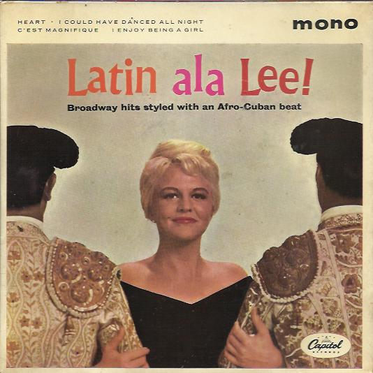 Peggy Lee - Latin Ala Lee Single
